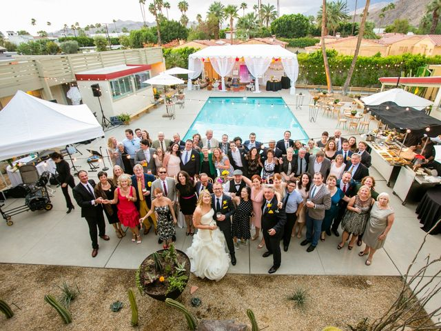 Seth and Melissa's Wedding in Palm Springs, California 44