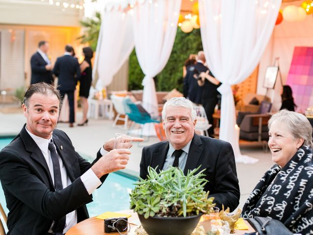 Seth and Melissa's Wedding in Palm Springs, California 45