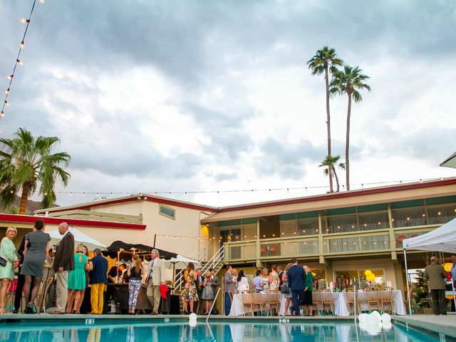 Seth and Melissa's Wedding in Palm Springs, California 46