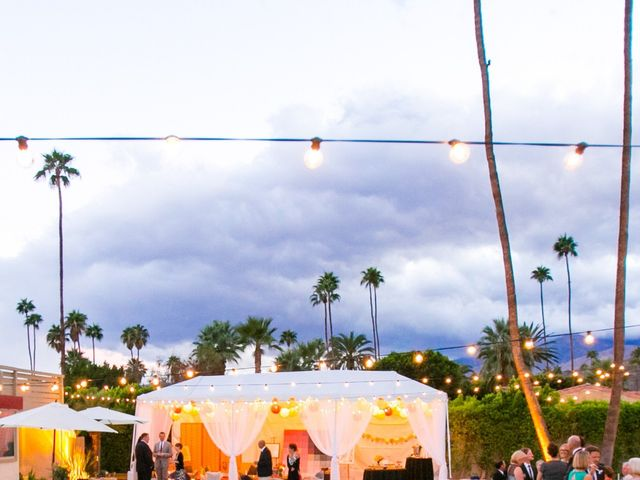 Seth and Melissa's Wedding in Palm Springs, California 48