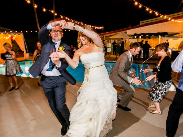 Seth and Melissa's Wedding in Palm Springs, California 54