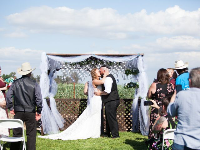 Leah and Cory's Wedding in Ceres, California 6