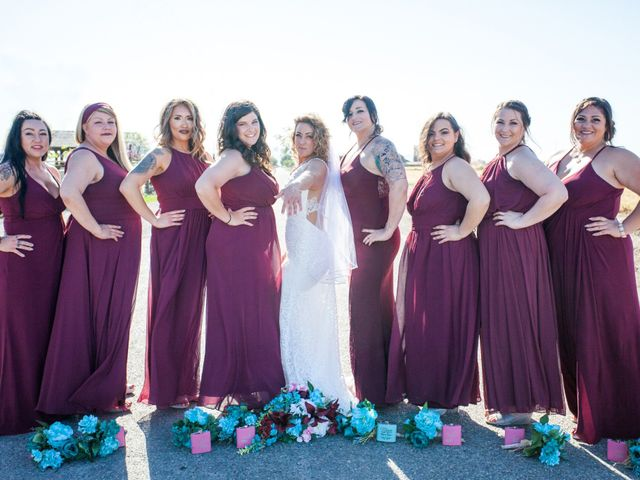 Leah and Cory's Wedding in Ceres, California 7