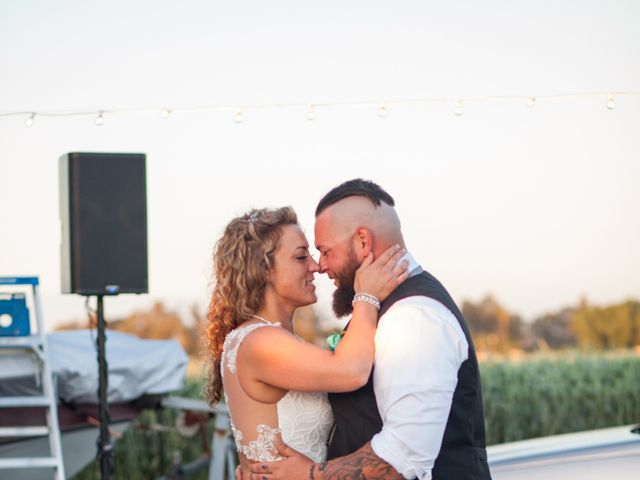 Leah and Cory's Wedding in Ceres, California 17