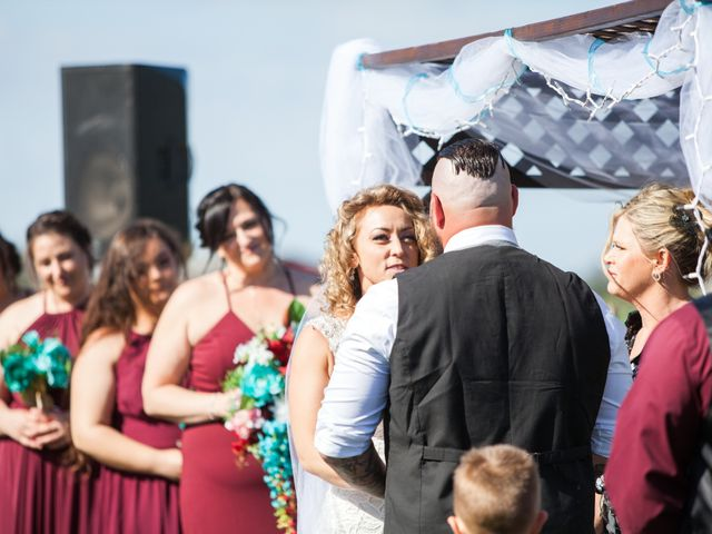 Leah and Cory's Wedding in Ceres, California 18