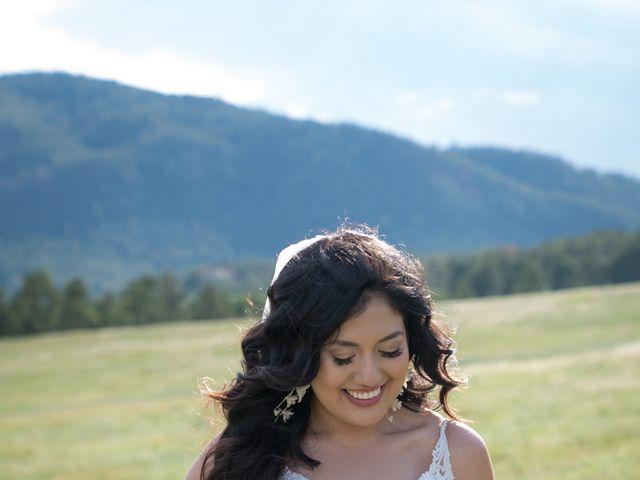 Esteban and Nayely's Wedding in Larkspur, Colorado 6