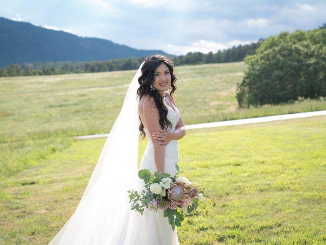 Esteban and Nayely's Wedding in Larkspur, Colorado 7