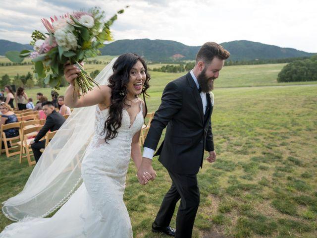 Esteban and Nayely's Wedding in Larkspur, Colorado 9