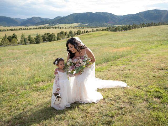 Esteban and Nayely's Wedding in Larkspur, Colorado 10
