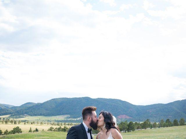 Esteban and Nayely's Wedding in Larkspur, Colorado 11