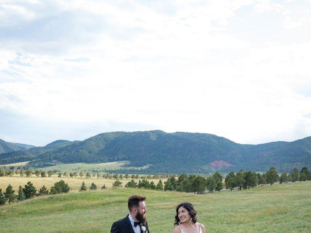 Esteban and Nayely's Wedding in Larkspur, Colorado 12