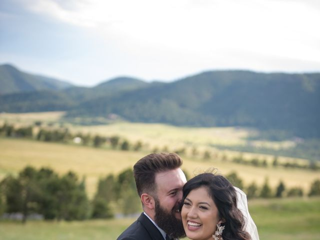 Esteban and Nayely's Wedding in Larkspur, Colorado 13