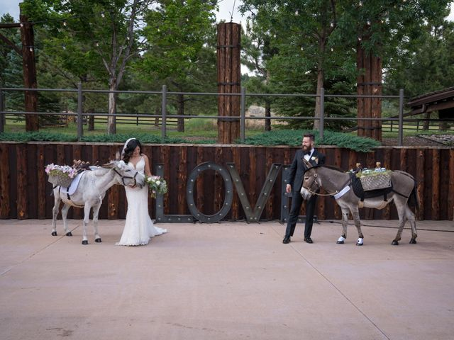 Esteban and Nayely's Wedding in Larkspur, Colorado 15