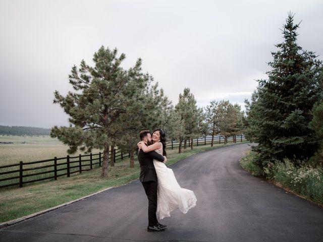 Esteban and Nayely's Wedding in Larkspur, Colorado 27