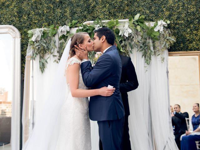 The wedding of Joanna and Rohan