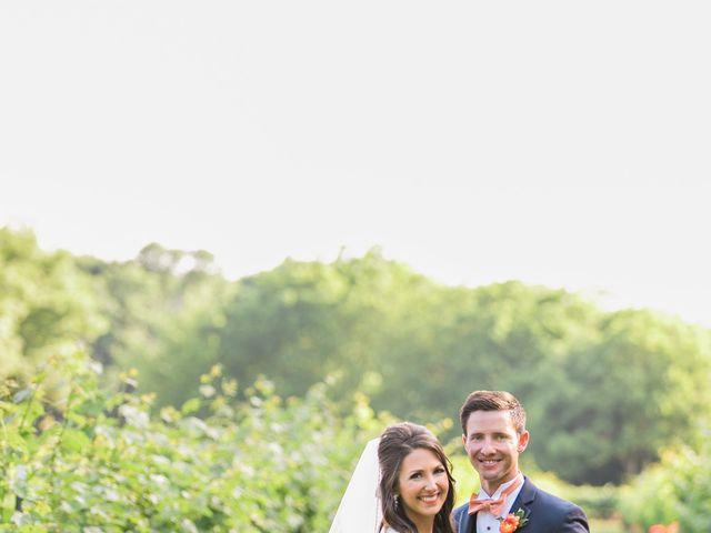 The wedding of Brady and Jillian