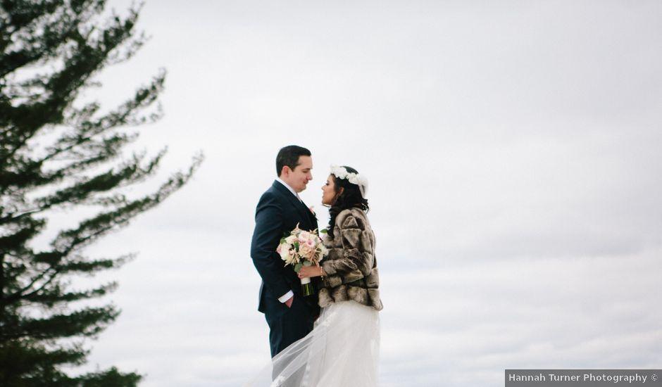 David and Julie's Wedding in Garrison, New York