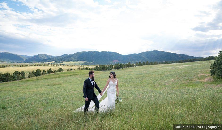 Esteban and Nayely's Wedding in Larkspur, Colorado