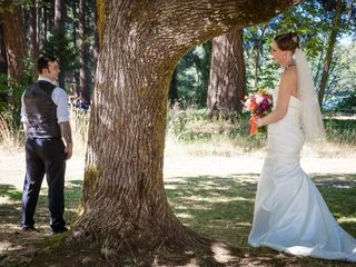 The wedding of Whitney and Tom 1