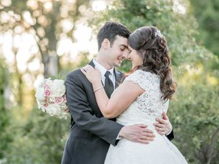 The wedding of Amanda and Mike