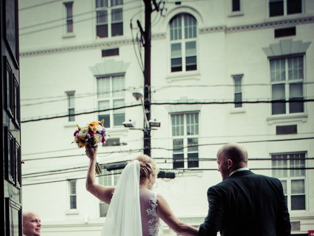 Eric and Faith's Wedding in Jersey City, New Jersey 12
