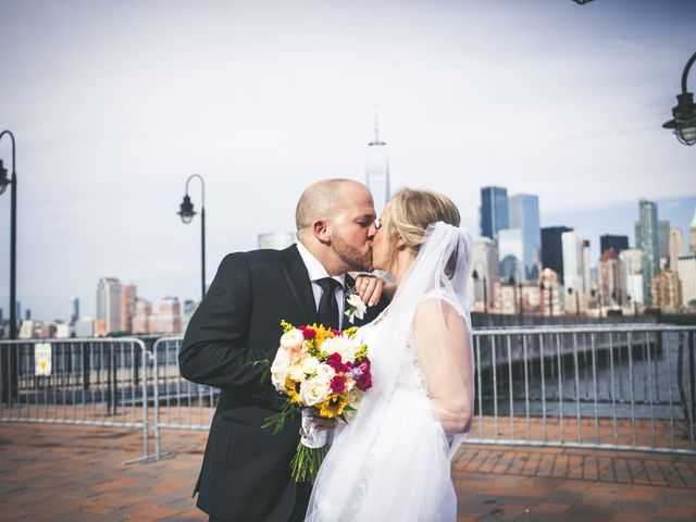 The wedding of Faith and Eric