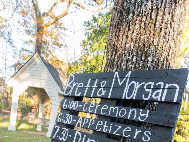 Morgan and Brett's Wedding in Ball Ground, Georgia 8