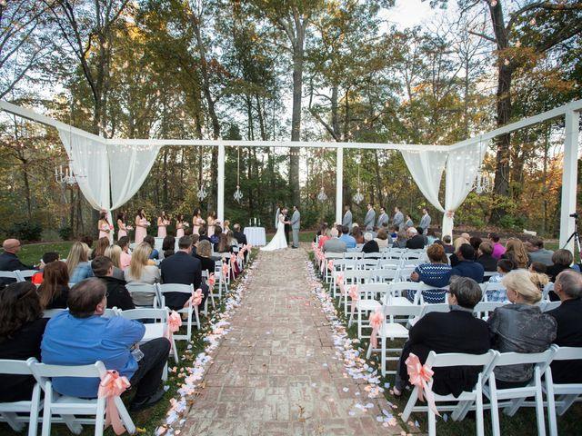 Morgan and Brett's Wedding in Ball Ground, Georgia 11