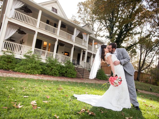 Morgan and Brett's Wedding in Ball Ground, Georgia 13