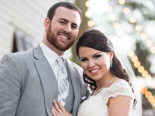 The wedding of Brett and Morgan