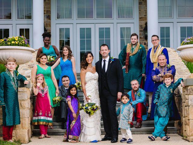 Sreeya and Shawn's Wedding in Middleburg, Virginia 14