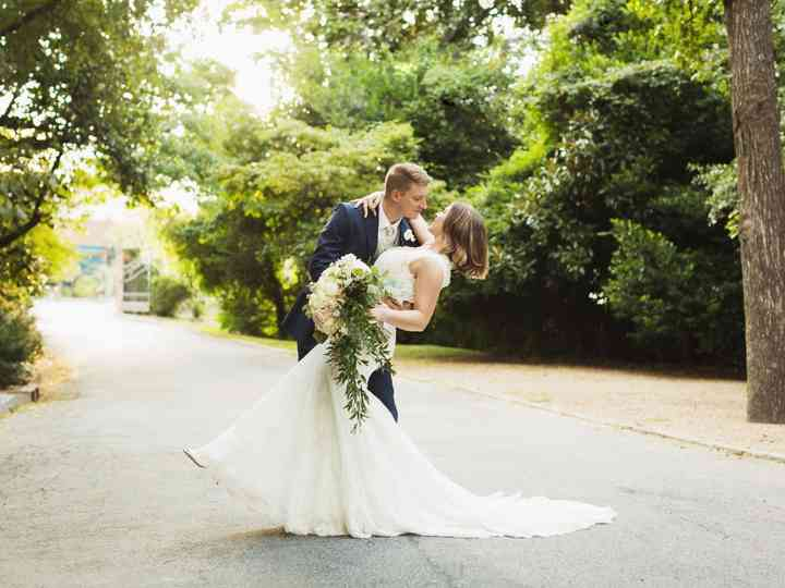 The wedding of Hannah and Andrew