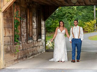 The wedding of Damon and Hannah