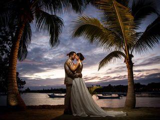 The wedding of Mainity and Jeff