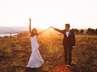 The wedding of Hana and Easton