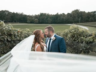 The wedding of Candice and David