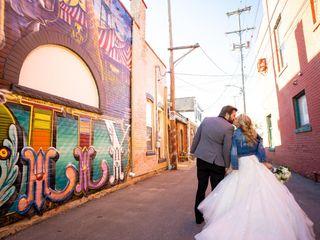 The wedding of Amanda and Zachary