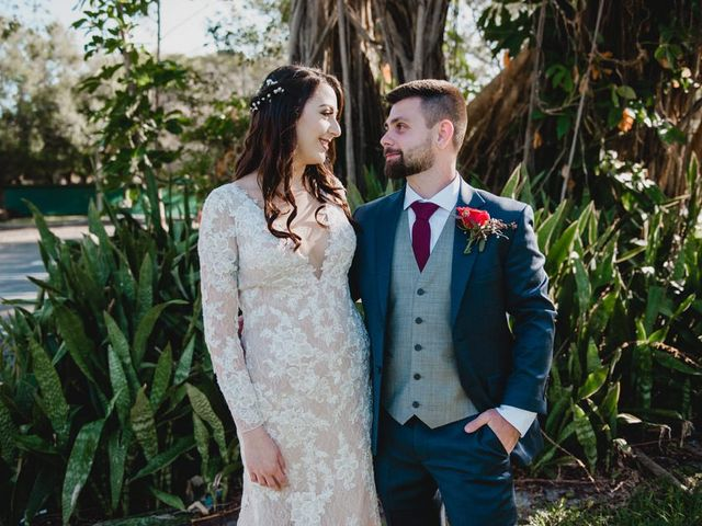 The wedding of Sara and Blair