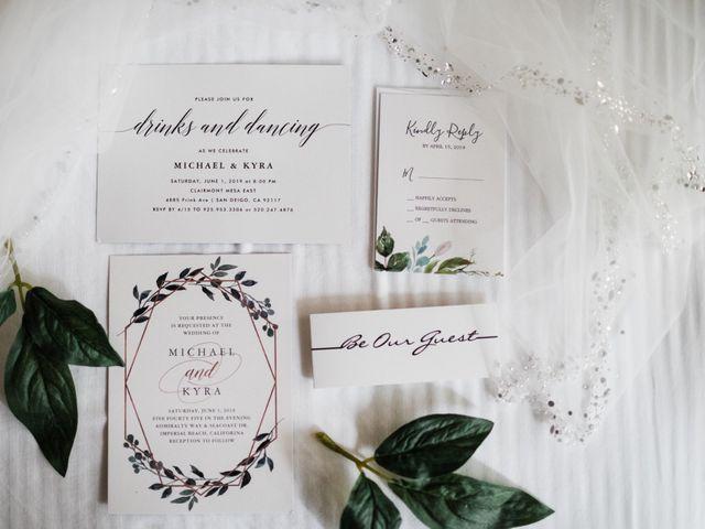 Michael and Kyra's Wedding in San Diego, California 5