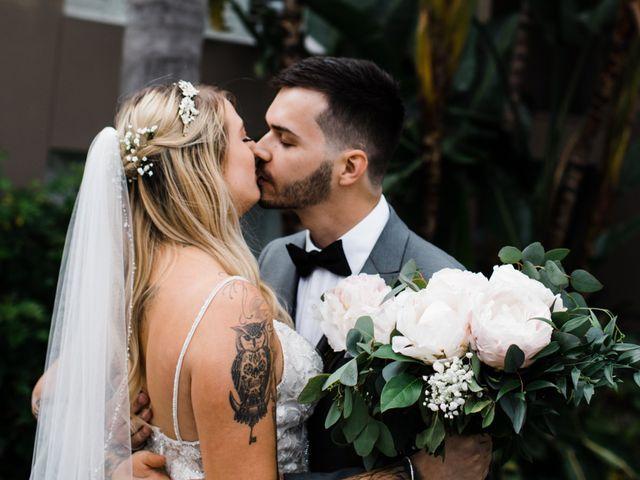 The wedding of Kyra and Michael