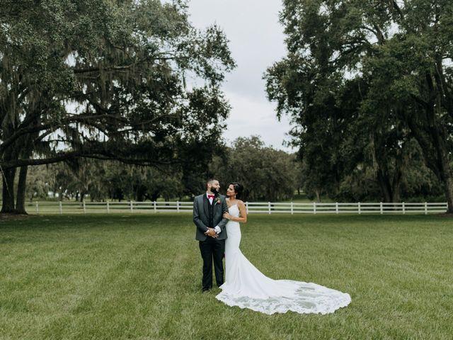 The wedding of Tanya and Jason