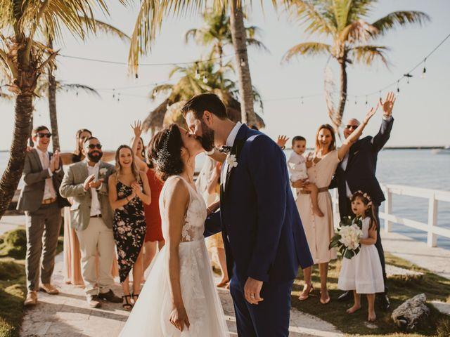 Khadija and Erin's Wedding in Key Largo, Florida 57