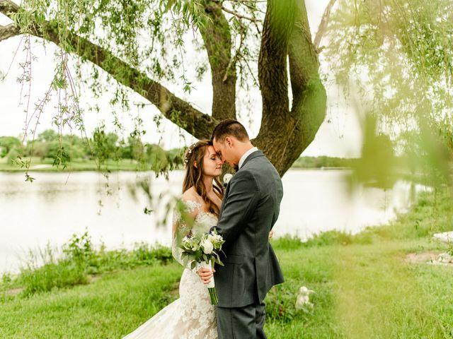 The wedding of Stephanie and Kaleb