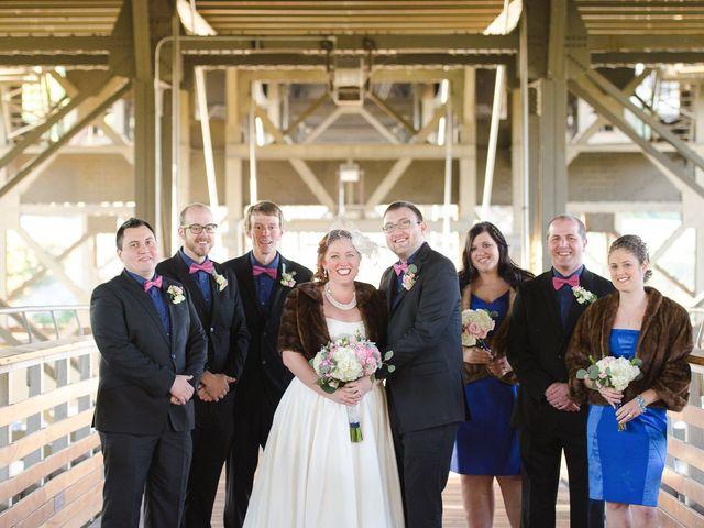 Mandy and Matt's wedding in Wisconsin 5