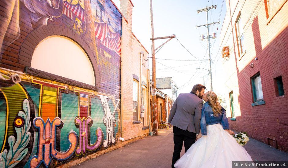 Zachary and Amanda's Wedding in Holly, Michigan