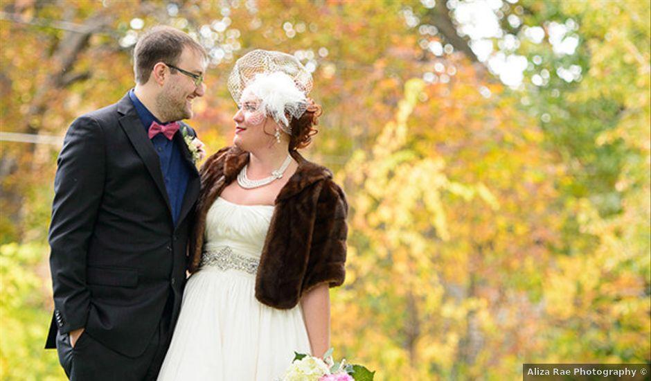 Mandy and Matt's wedding in Wisconsin