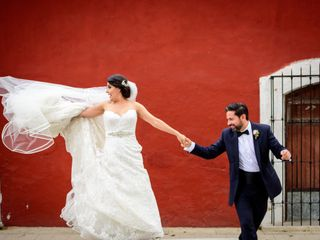 The wedding of Kris and Juan