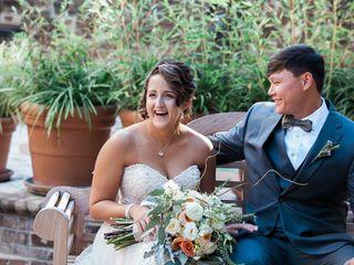 Cayla and David's Wedding in Savannah, Georgia 6