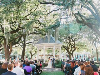 Cayla and David's Wedding in Savannah, Georgia 13
