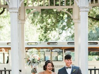 Cayla and David's Wedding in Savannah, Georgia 15